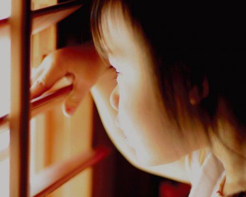 cửa chớp gỗ toàn cho trẻ nhỏ