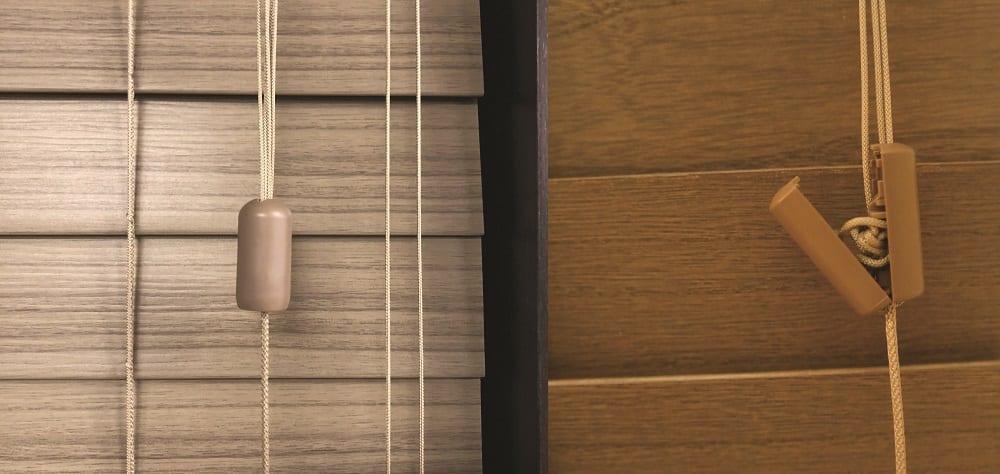 Rèm sáo gỗ, rèm cửa gỗ cao cấp Norman chuyên cung cấp các loại rèm gỗ đẹp có móc nối an toàn